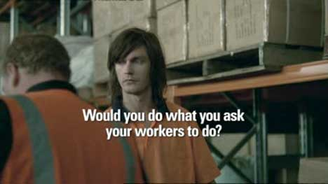 Would you do what you ask your workers to do?