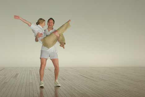 Danes and Wilson in Gap Khakis TV ad