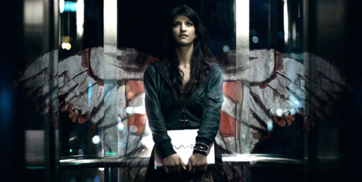 Sony Vaio angel in Projections TV ad