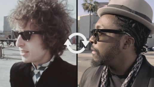 Bob Dylan and Will.i.am in Pepsi Anthem - Forever Young