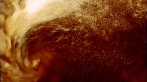 Guinness Pint Swirls in television commercial