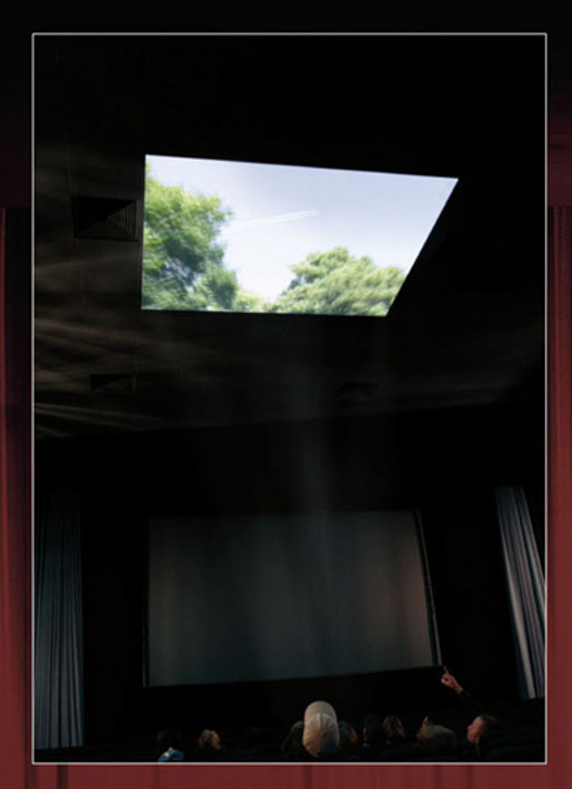 Nissan Cinema Ceiling commercial in Germany