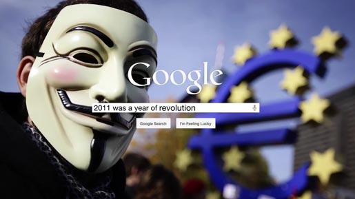 Google 2011 was a year of revolution
