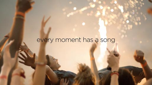Coca Cola Share a Song commercial - Every Moment has a Song
