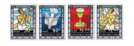Niue Christmas Stamps 2009