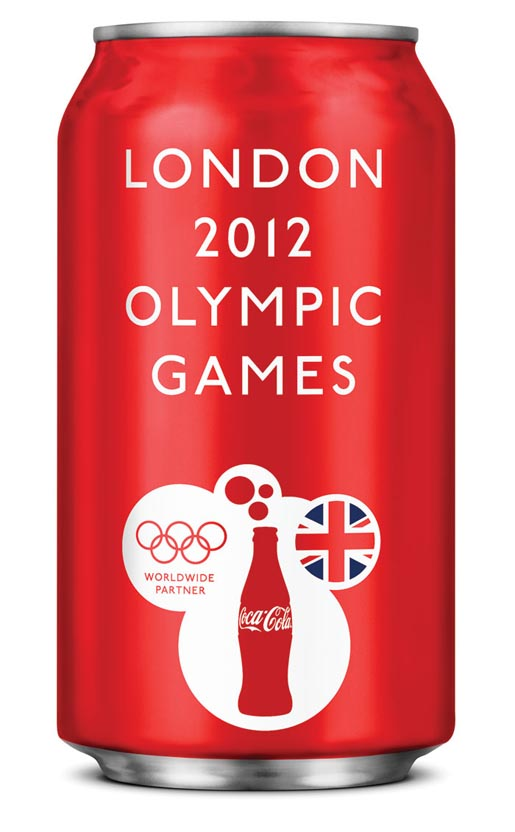 Coca Cola London Olympics can