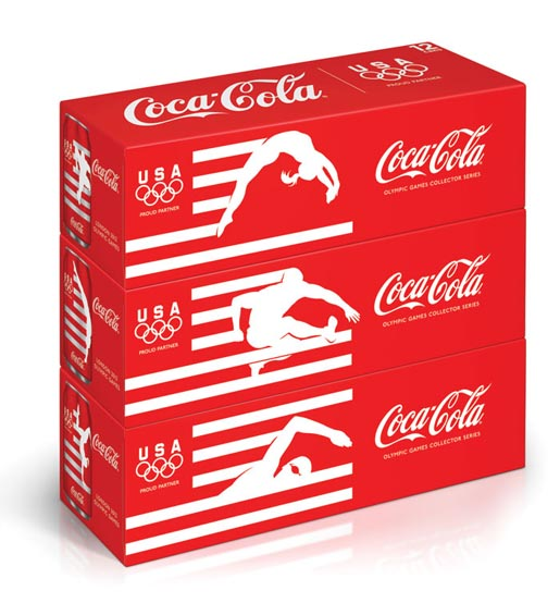 Coca Cola London Olympics can packagin
