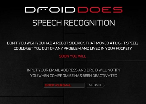 Droid Does Speech Recognition