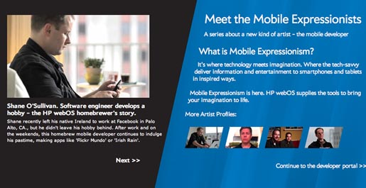 HP Mobile Expressionists