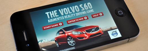 Volvo 360 Augmented Reality  Driving Game