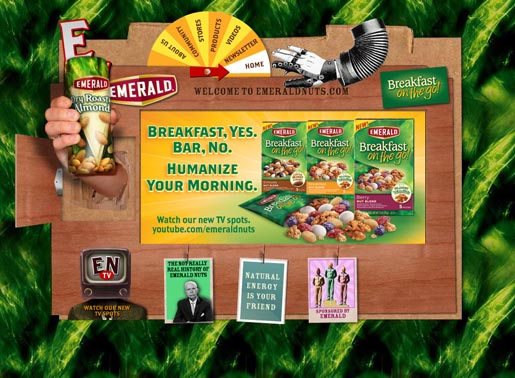 Emerald Humanize Your Morning site