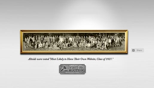 Altoids Own Site Class in Hall of Curiosity