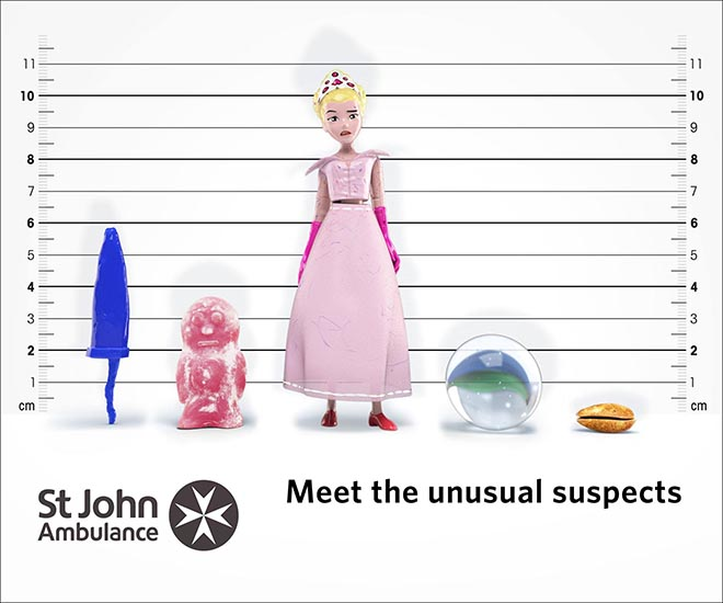 St John Ambulance The Chokeables - The Unusual Suspects
