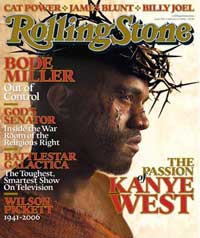 Kanye West Rolling Stone Cover