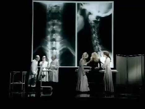 Doctors and Dixie Chicks in Not Ready To Make Nice music video