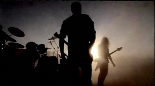 Metallica in The Day That Never Comes music video