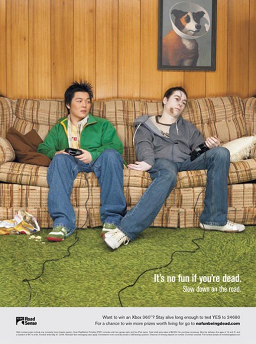 No Fun Being Dead Videogame Poster