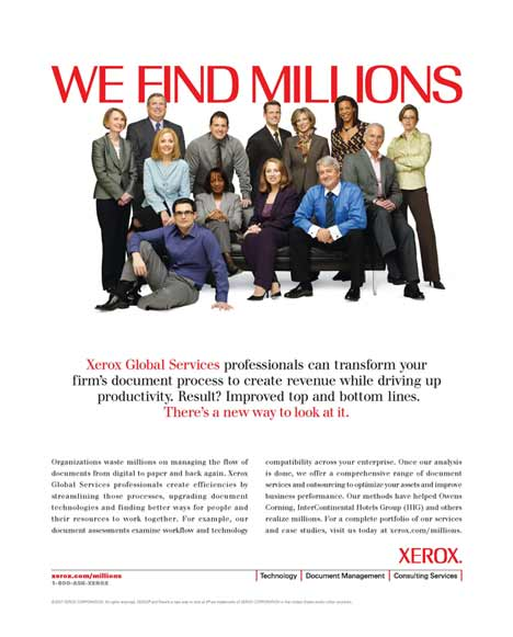 Xerox - We Find Millions