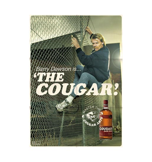 Barry Dawson is the Cougar