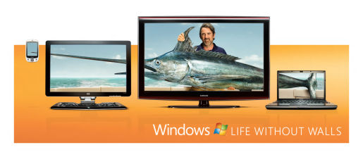 Marlin in Windows without Walls out of home advertisement