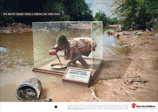 Save the Children Dirty Water