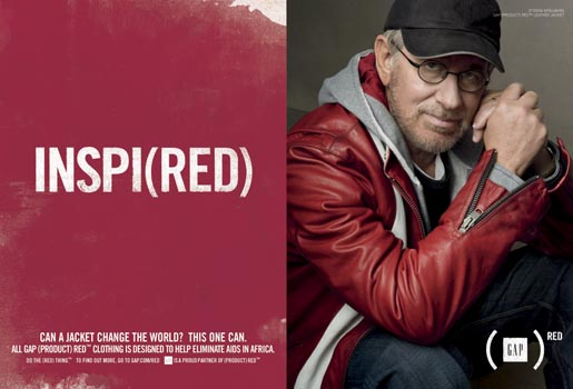 Gap Do The Red Thing - Steven Spielberg Inspi(red)