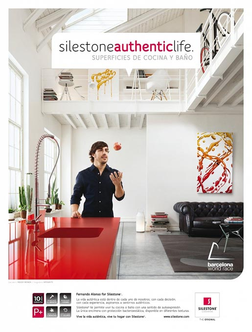 Silestone Authentic Life - Fernando Alonso