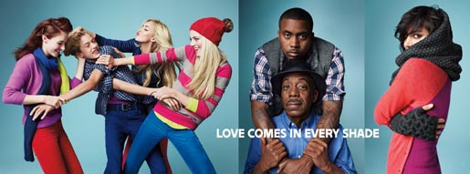 Gap Love comes in Every Shade