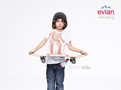 Evian Live Young Kids