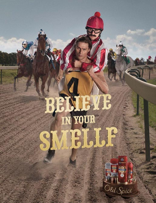 Old Spice Believe In Your Smelf poster