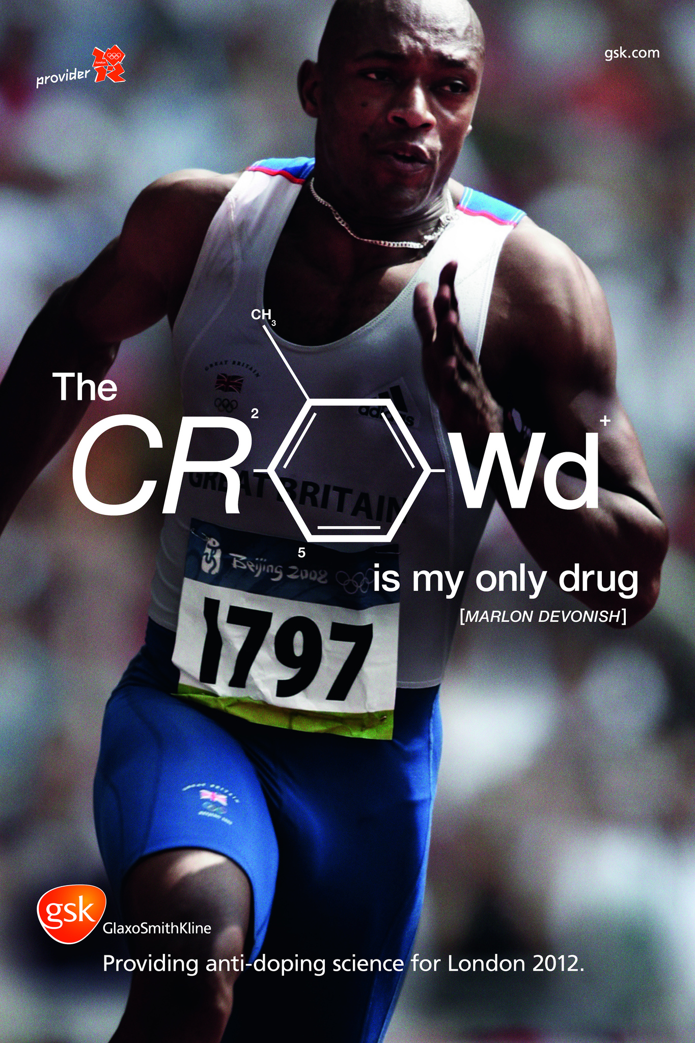 gsk anti-doping at olympics