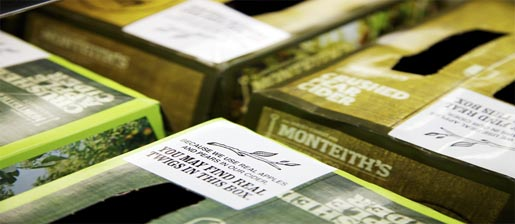 Monteiths Twigs Packaging