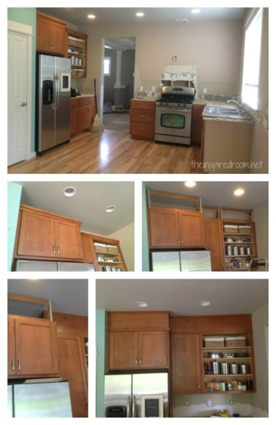 Filling in that Space Above the Kitchen Cabinets