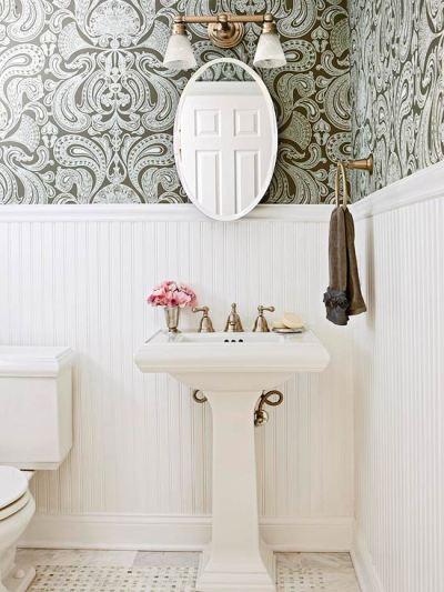 wainscoting and wallpaper ideas 2017 - Grasscloth Wallpaper