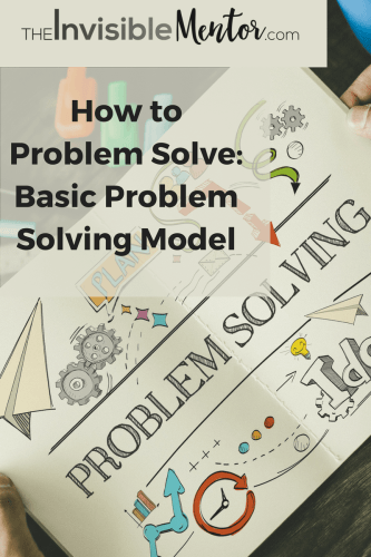 basic problem solving model, fun problem solving activities,how to hone your problem solving skills, how to improve problem solving skills, solving problems equals success,