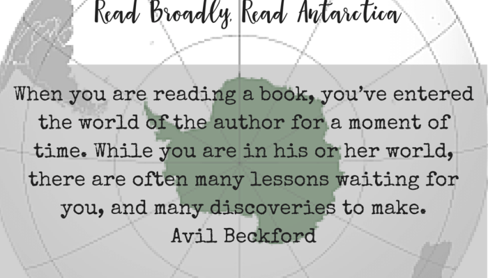Extreme Reading Challenge Month Two, Read Broadly, Read Antarctica