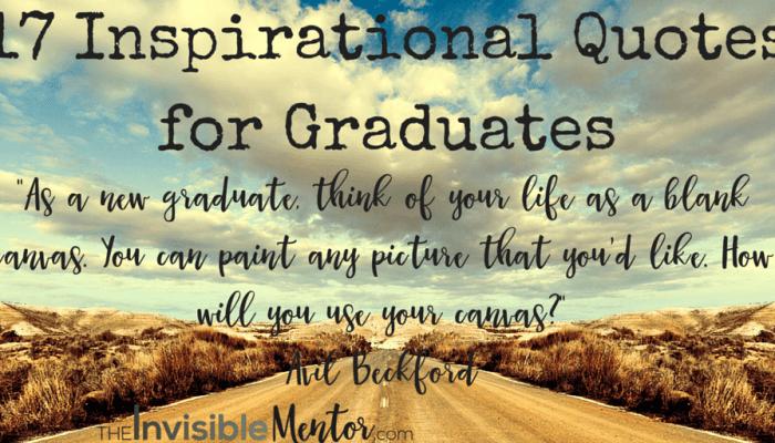 17 Inspirational Quotes for Graduates