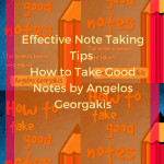 effective note taking method