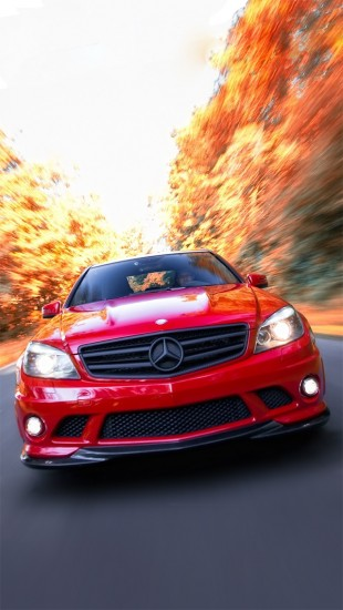 Mercedes Benz C63 Amg - The iPhone Wallpapers