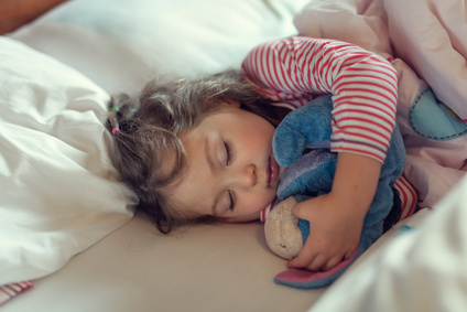Young-girl-Sleeping