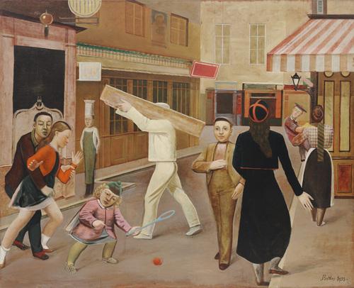 Balthus The Street