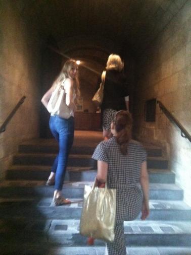 Jade Dressler cloisters Maria McElroy Shelley Lewis Sandra Zwollo