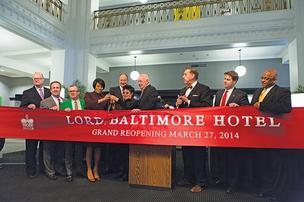 lord baltimore hotel opening