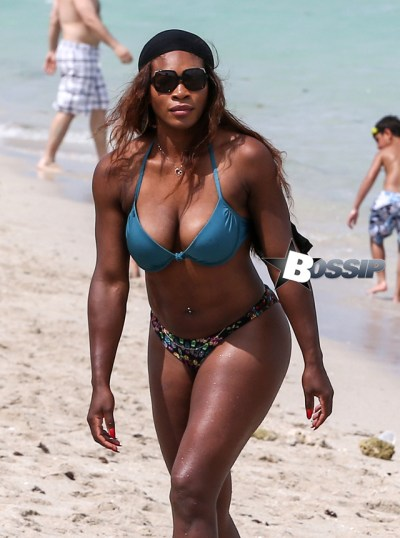 Serena Williams Shows Off Her Bikini Body In Miami