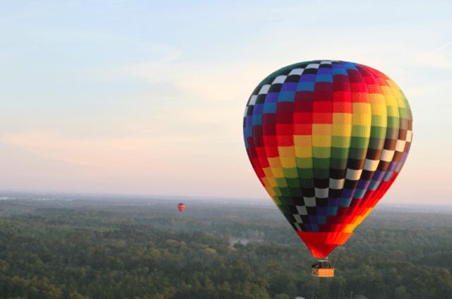 Bucket List Worthy: Sunrise Hot Air Balloon Rides over Disney World!