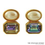 YSL Yves Saint Laurent Earrings
