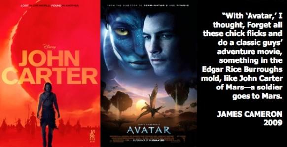 Avatar, Cameron, Burroughs