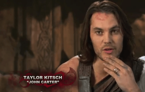 Taylor Kitsch as John Carter - Interview