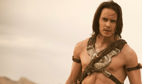 Taylor Kitsch in Disney's John Carter