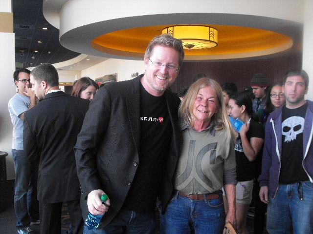 Andrew Stanton and Jan Austin